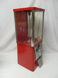 Eagle Vending Machine Custom Vintage EAGLE Vending Machine Gum Candy Toy W Key Metal Plexiglass