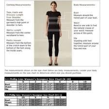 3 1 Phillip Lim Size Chart 3 1 Phillip Lim Sequined Dress Size 4