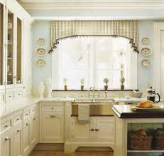 Valance For Kitchen Windows Kitchen Contemporary Kitchen Curtains And Valances With Cream