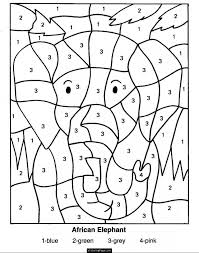 Free Printable Math Coloring Worksheets Free Worksheets Library ...