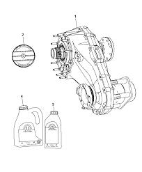2009 chrysler aspen transfer case assembly identification thumbnail 2