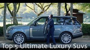 luxury full size suv 5 best world class luxury full size suv 2018 youtube