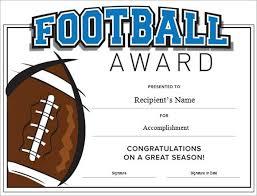 Football Certificate Template Fascinating Football Certificate Template Colbroco