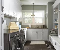 kitchen laundry room cabinets laundry. Laundry Room Cabinets In Painted White Maple By Aristokraft Cabinetry Kitchen E
