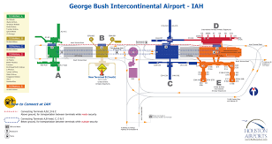 iah airport map  my blog