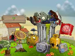 wallpaper plants vs zombies hd wallpaper