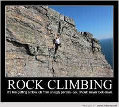 Quotes About Climbing Unique Demotivational Rock Climbing