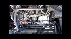 vanagon 2 1l waterboxer engine