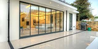 bi folding glass doors bi folding glass doors cost
