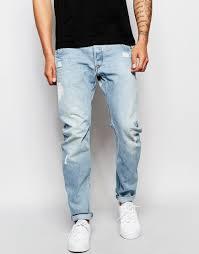 Arc 3d Slim Jeans Light Aged Arc 3d Slim Jeans Wisk Light Aged Destroyed Wash