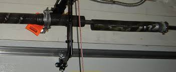 garage door broken tension spring