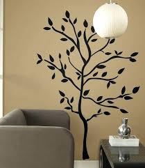 tree silhouette wall decal with silhouette tree wall decal black tree silhouette wall decal egz
