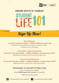 Student Life 101 Sit Student Life