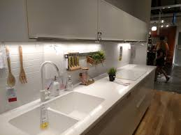 White Sinks For Kitchen Ikeas White Personlig Acrylic Kitchen Countertop Integrated Sink