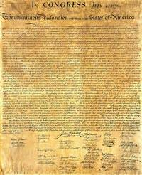 declaration of independence by thomas jefferson the colonial  declaration of independence