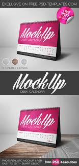 bigpreview free desk calendar mock up in psd