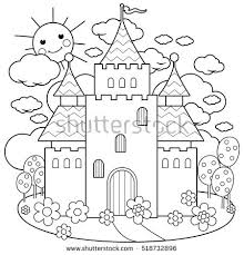Free Printable Coloring Pages Of Flowers And Fairies Vector Stock