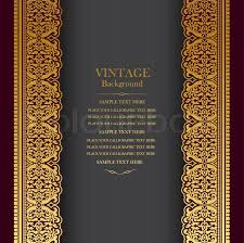 stock vector of vine background design elegant book cover victorian style invitation card