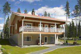 Flatpack House Hirsikoti 5987 Log Wood House