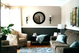 Decorated Small Living Rooms Classy Two Tone Bedroom Paint Walls Living Room Colors Large Size Of Photos