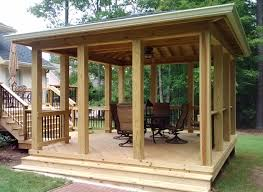 free standing porch for mobile home