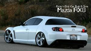 Forza 4 Drift Car Building & Tuning - #23 - Mazda rx8 - YouTube