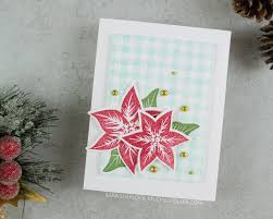 Poinsettia Card Much Love Sara Cards Paper Projects Made With Love