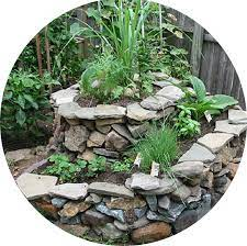 garden activities herb spiral garden