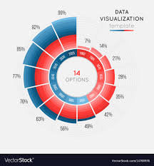 Data Clock Chart Circle Chart Infographic Template For Data