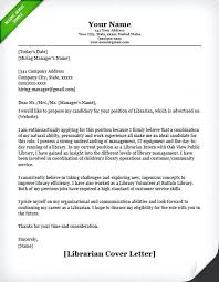 Sample Volunteer Letter Librarian Cover Letter Example Sample Volunteer For School