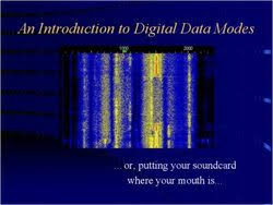 An Introduction to Digital Data Modes - or, putting your soundcard where  your mouth is...