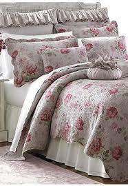154 best Master Bedroom images on Pinterest   Bedrooms, Master ... & Lenox® Vintage Floral Quilt Collection Adamdwight.com