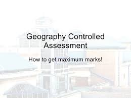 Gcse geography coursework introduction example Marked by Teachers