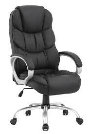 Ergonomic <b>Executive</b> High Back <b>Office Gaming Chair</b>, Metal Base ...