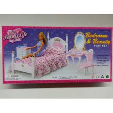 Barbie dollhouse furniture sets Sets Uk Bedroom Beauty Play Set For Barbie Dolls And Dollhouse Furniture Walmartcom Walmart Bedroom Beauty Play Set For Barbie Dolls And Dollhouse Furniture