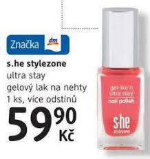 She Stylezone Ultra Stay Gelový Lak Na Nehty