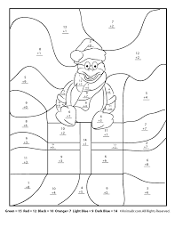 christmas coloring pages 5th grade christmas amp winter math worksheets for 2nd 3rd and 4th graders for kids math pages for 5th graders aprita com on fractions to decimals 5th grade printable