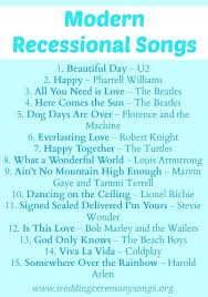 wedding recessional songs. Recessional Songs Wedding Recessional Songs Pinterest