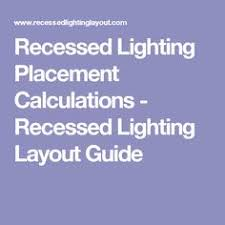 recessed lighting placement traditional eat
