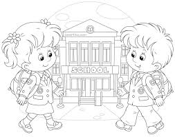 Small Picture Coloring Pages First Day Of School Coloring Pages For