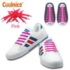 details about easy lazy slip on elastic diy shoe laces no tie shoelaces for kids s senior