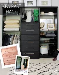 IKEA Pax In The Master Closet Look At The Crown Molding Will Do Ikea Closet Organizer Hack
