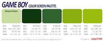 Gameboy Colour Palettel