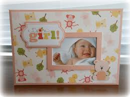 Baby Albums Baby Boy Or Baby Girl Mini Album With Bonnie Card Making