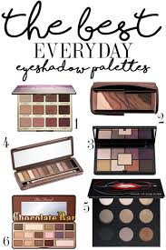 the best everyday eyeshadow palettes