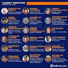 cabinet ministers of india 2021 find