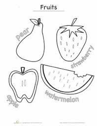 Small Picture Healthy Eating Coloring Page Meat and Beans Worksheets
