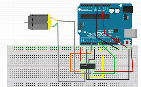 dc motor control by labview automation using labview and arduino circuit diagram for controlling dc motor