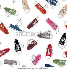 converse shoes logo vector. converse shoes pattern logo vector
