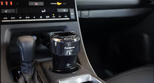 Máy lọc không khí và khử mùi ô tô Panasonic F-GMK01-K sản xuất tại Nhật Bản  màu đen công suất 3.9m3 lọc bụi diệt khuẩn khử mùi - 2.360.000đ - TÔI BÁN
